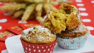 Muffin allo yogurt e muscovado