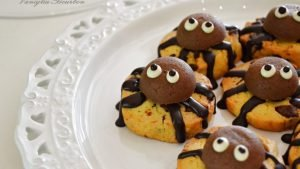 Cookies ragnetto – idea per halloween